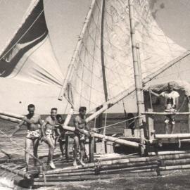 El rescate del la balsa Tahiti Nui, un episodio desconocido