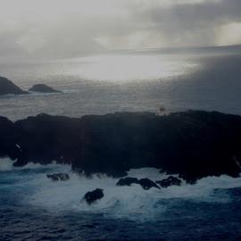 Relevos en faro islotes Evangelistas e isla Diego Ramírez