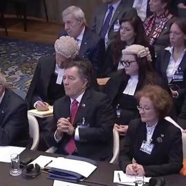 Chile y Bolivia Presentan sus Alegatos Orales ante la Corte Internacional de Justicia