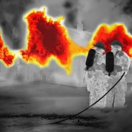 Corrección adaptativa de no-uniformidad en sistemas de imágenes infrarrojas