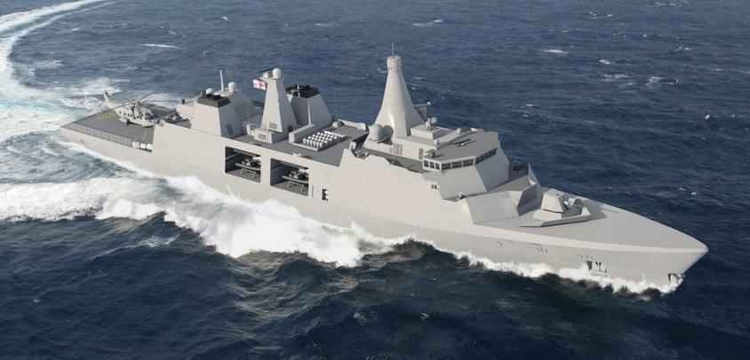 Diseñando el apoyo logístico para las fragatas construidas en Chile