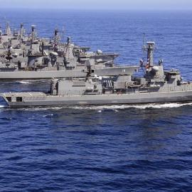 Las operaciones navales ayer y hoy