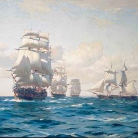 Los pañales de la marina nacional (1818-1819)
