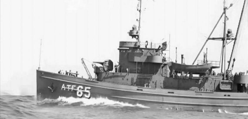 El naufragio del ATF Janequeo