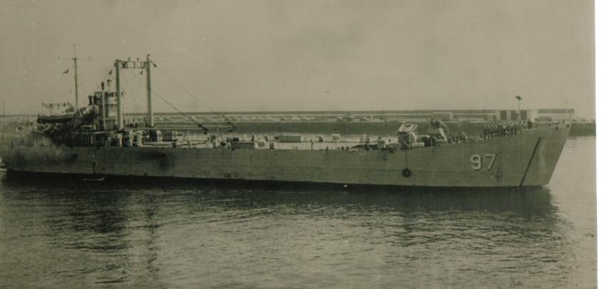El rescate de la LST Toro en San Félix