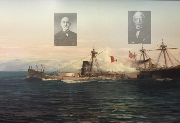 Mahan y Corbett en la Guerra del Pacífico