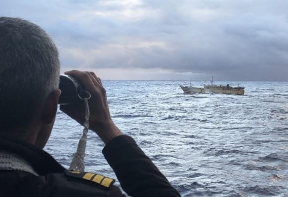 El aporte de los submarinos contra la pesca ilegal