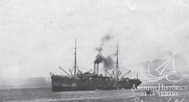 El naufragio del transporte Angamos