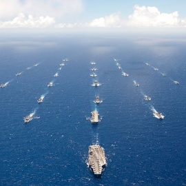La versión 25  del ejercicio naval más grande del mundo