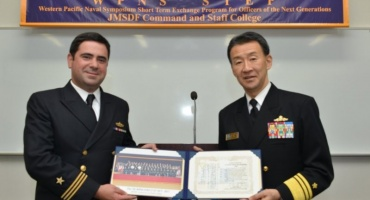 Chile participa en simposio organizado por Marina japonesa Japón