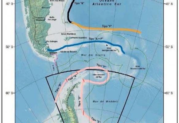 La plataforma continental extendida: El caso de Chile y Argentina en el mar austral y la Antártica