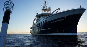 El AGS 61 Cabo de Hornos en la investigación científica marina