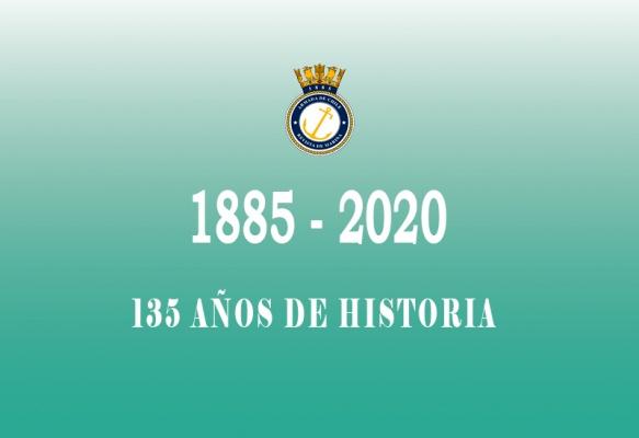 Saludos por el 135° aniversario de la Revista de Marina