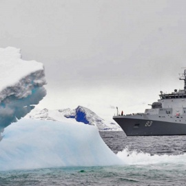 La Armada y la Antártica