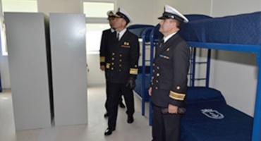 Inauguran nuevas dependencias que recibirán a las primeras mujeres del Servicio Militar en la Armada