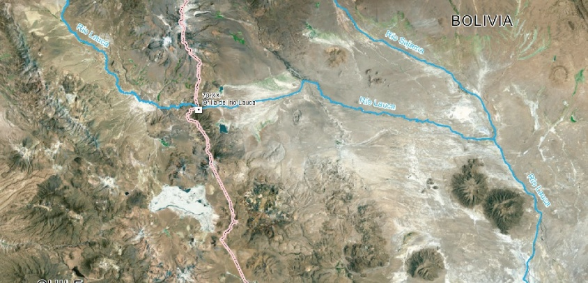 La cuestión del Río Lauca, una controversia artificial