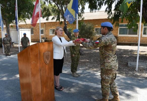 Última participación chilena en UNFICYP