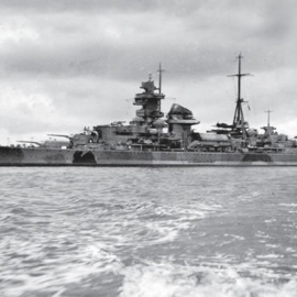 El fin de la gran flota de superficie alemana