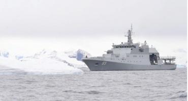 OPV Marinero Fuentealba Realizó Operativo Contra la Pesca Ilegal en Aguas Antáricas