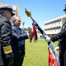 Participación de la Armada de Chile en la formación de oficiales de marina ecuatorianos