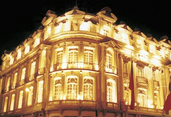 El club naval de Valparaíso