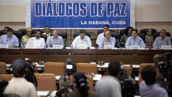 Conversaciones de Paz en La Habana, Cuba