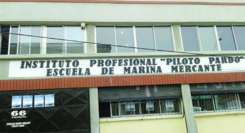 Frontis Instituto Profesional Piloto Pardo