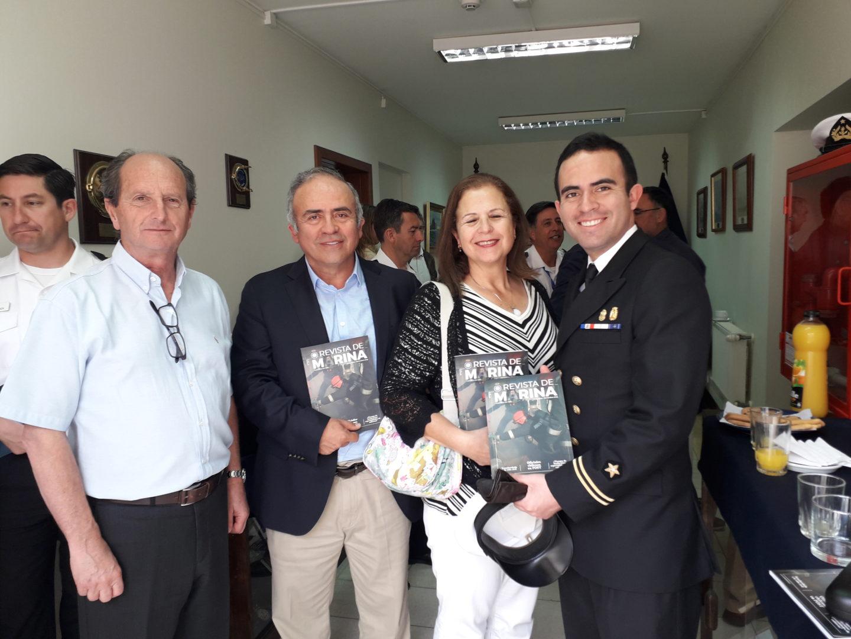 VA Francisco Guzman, y T2 Francisco Cozzi